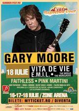 Concert Gary Moore la Bucuresti la Ciuc Summer Fest 2010 la Zone Arena