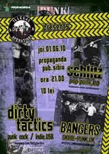 Concert Dirty Tactics in Propaganda Pub Sibiu