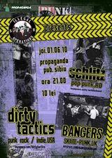 Concert Dirty Tactics in Propaganda Pub Sibiu