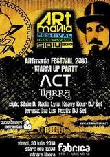 Concert Act si Tiarra in Club Fabrica din Bucuresti