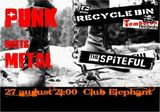 Punk Meets Metal in club Elephant din Bucuresti