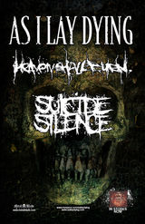 Turneu european As I Lay Dying, Heaven Shall Burn si Suicide Silence