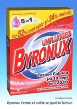 Concert Byron unplugged in club Fabrica Bucuresti