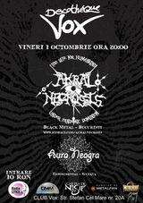Concert Akral Necrosis si Aura Neagra in Discotheque Vox Suceava
