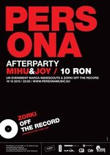 Concert Persona in Zorki Off the Record din Cluj