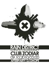 Concert Rain District in club Zodiar Galati