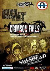 Concert Crimson Falls in Underworld Bucuresti