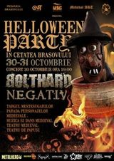 Concert Bolthard la Helloween Party in Brasov
