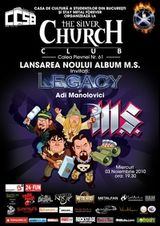 M.S. lanseaza un nou album in Club Silver Church