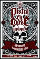 Concert unplugged Pistol Cu Capse in club Elephant Bucuresti