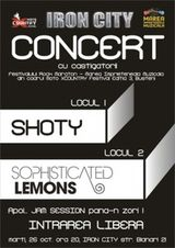 Concert Shoty si Sophisticated Lemons in Iron City