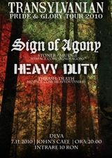 Concert Sing Of Agony si Heavy Duty John's Cafe Deva