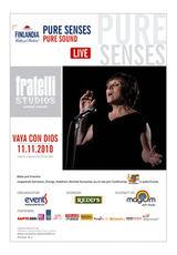 Concert Vaya Con Dios la Frattelli Studios Bucuresti