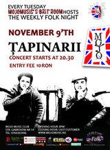 Concert Tapinarii in Club MoJo Brit Room Bucuresti