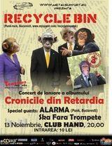 Concert Recycle Bin in Club Hand din Iasi