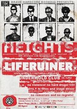 Concert Liferuiner si Heights in Underworld Bucuresti