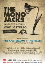 Mono Jacks lanseaza albumul de debut in The Ark Bucuresti