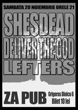 Concert Shesdead si Deliver The God in Za Pub Brasov