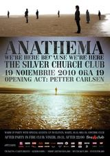 Concert Anathema la Silver Church in Bucuresti