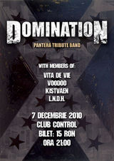 Concert Domination (Pantera Tribute Band) in Club Control
