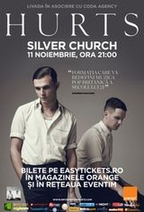 Amanat: Concert Hurts in Silver Church din Bucuresti