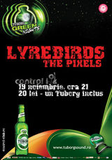 Concert Lyrebirds si The Pixels in Club Control Bucuresti