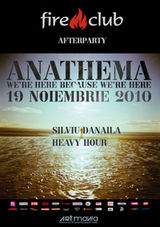 AfterParty Anathema in Fire Club din Bucuresti