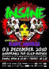 Concert Insane si Rock Norris in Cluj-Napoca
