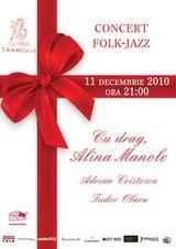 Concert Alina Manole la Clubul Taranului din Bucuresti