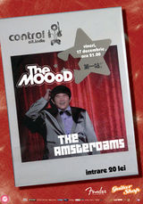Concert The MOOoD vs The Amsterdams in club Control Bucuresti