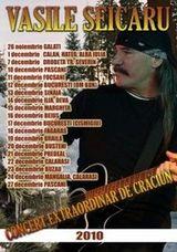 Concert de colinde cu Vasile Seicaru in parcul Cismigiu din Bucuresti