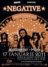 Concert Negative in Irish & Music Pub din Cluj-Napoca