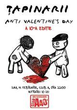 Concert Anti Valentine's Day cu Tapinarii in Club A din Bucuresti