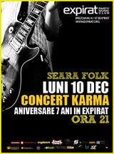 Concert aniversar Karma in clubul Expirat din Bucuresti
