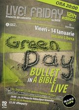 Proiectie Green Day in Base Cafe Bucuresti