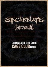 Concert Sincarnate si Malpraxis in Cage Club