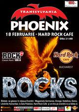 Concert Phoenix in Hard Rock Cafe din Bucuresti