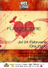 Concert FusionCore in Elephant Pub Bucuresti