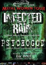 Concert Infected Rain si Psychogod in bar Hand din Iasi