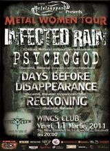 Concert Infected Rain si Psychogod in Wings Club Bucuresti