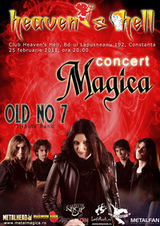 Concert Magica in club Heaven's Hell Constanta