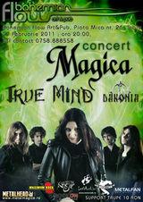 Concert Magica in Bohemian Flow din Sibiu
