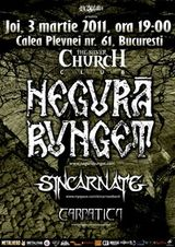 Concert Negura Bunget, Sincarnate si Carpatica in Silver Church