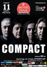 Concert Compact in Music Hall din Bucuresti
