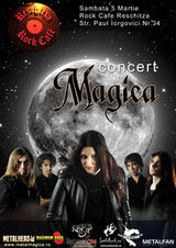Concert Magica in Rock Cafe Reschitza din Resita