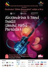 Concert Gandul Matei si altii de Zilele Basarabiei in club Jukebox Bucuresti