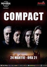 Concert Compact in Hard Rock Cafe Bucuresti