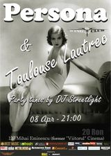 Concert Persona si Toulouse Lautrec in Wings Club