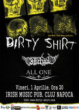 Concert Dirty Shirt in Irish Music Club din Cluj