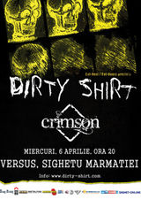 Concert Dirty Shirt si Crimson in Sighetu Marmatiei